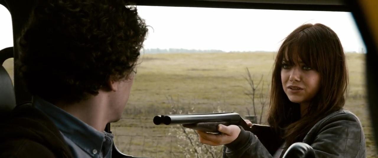 Emma Stone shows her mettle as Wichita in Zombieland