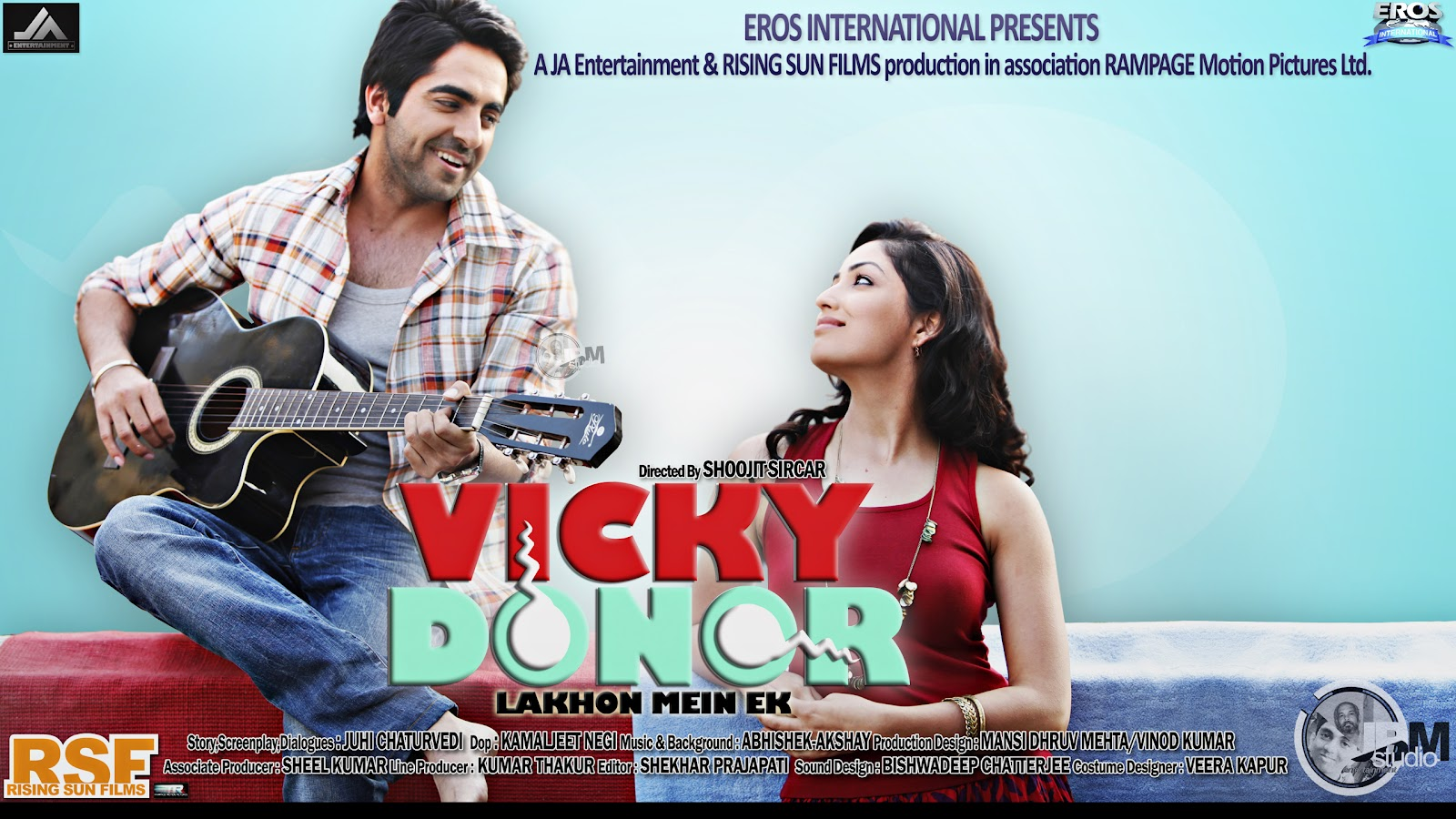 Vicky Donor – Movie Review