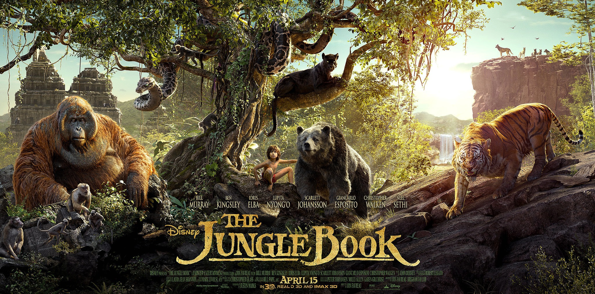 The Jungle Book – Movie Review