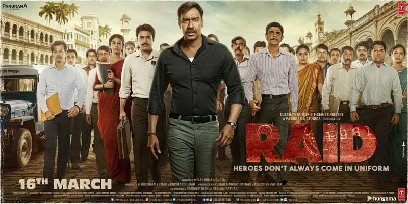 Raid 2018 Movie Poster
