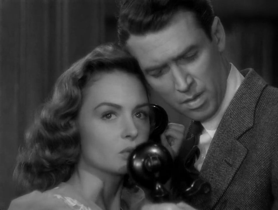 James Stewart & Donna Reed-in-It's-A-Wonderful-Life-1946-Movie