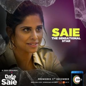 Sai Tamhankar in Date With Saie