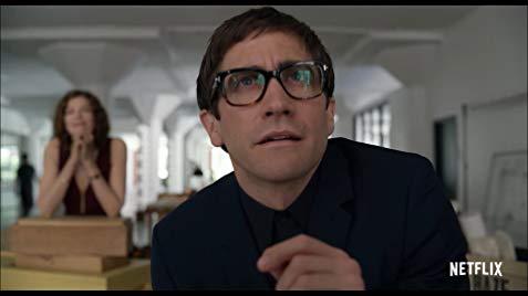 Jake Gyllenhaal as Morf Vandewalt in Velvet Buzzsaw Movie