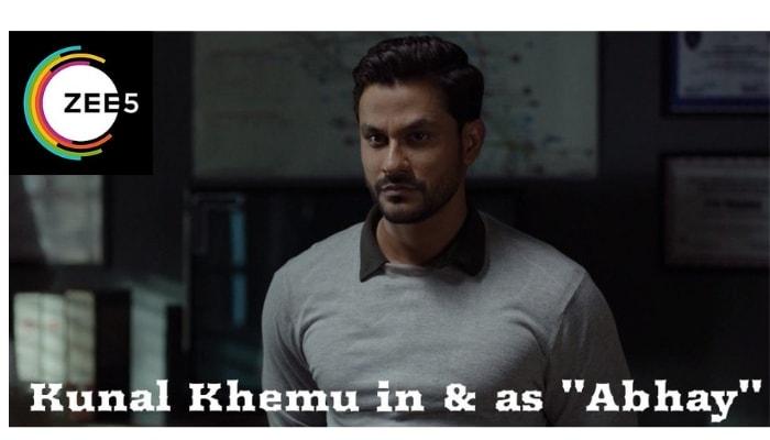 Kunal Khemu in Abhay - A ZEE5 Original