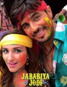 Siddharth Malhotra & Parineeti Chopra in the lead roles in Jabariya Jodi