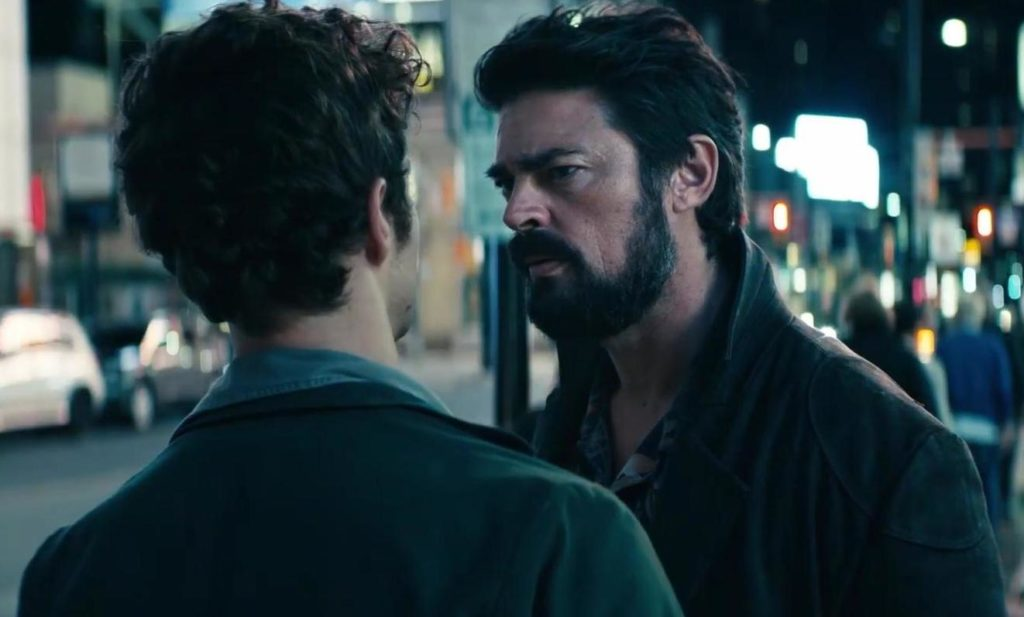 Karl Urban as Billy Butcher Revels in The Boys