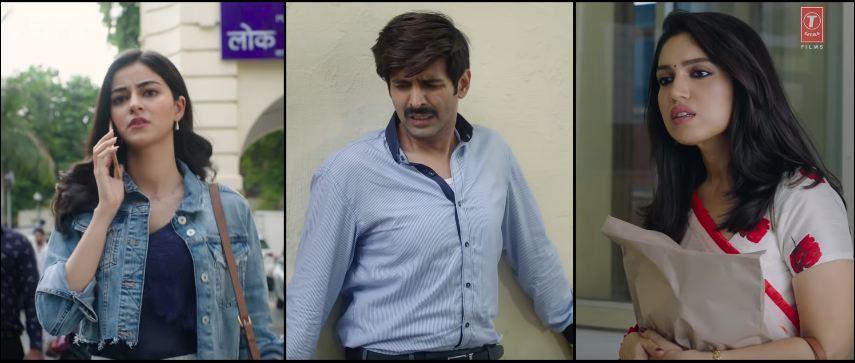 The trio has hit the right chord in Pati Patni Aur Woh