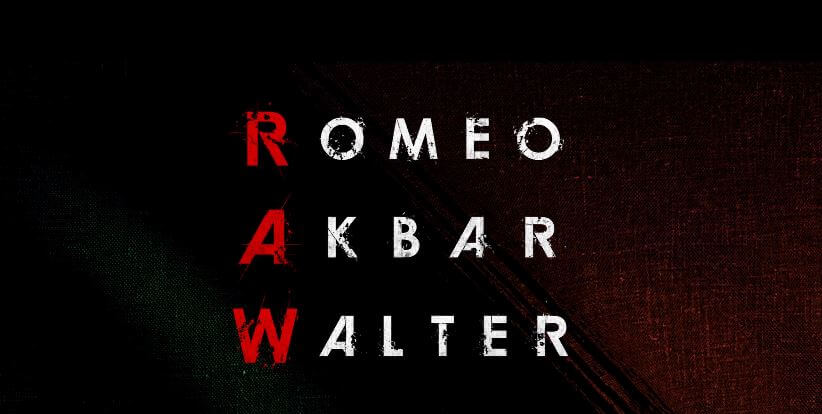 Romeo Akbar Walter 2019 Movie Poster.
