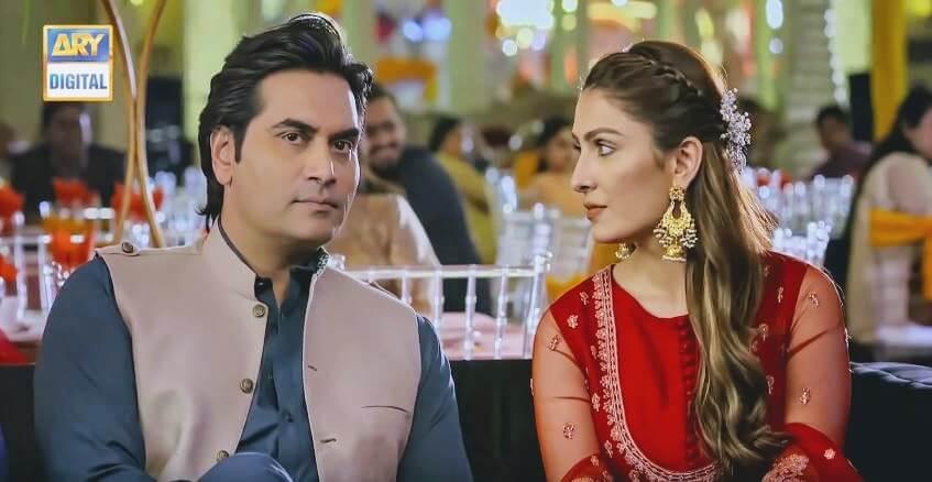 Humayun Saeed as Danish & Ayeza Khan as Mehwish in Mere Paas Tum Ho
