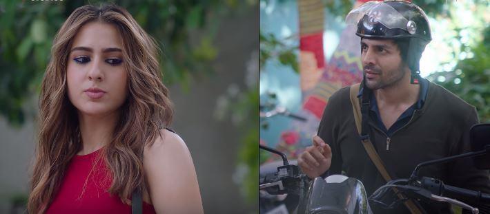 Kartik Aaryan & Sara Ali Khan in Love Aaj Kal 2
