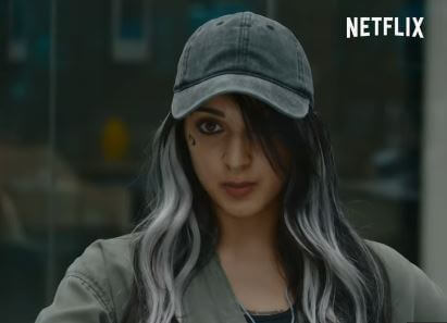 Kiara Advani as Nanki is sensitive, poetic yet bold enough to take the bull by the horns in Guilty 2020 Movie