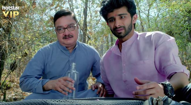 Siddharth Menon & Vinay Pathak in 2019 Hotstar Movie - Chhappad Phaad Ke