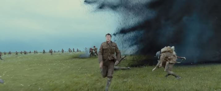 The last scene of 1917 movie is wonderfully choreographed and brilliantly directed