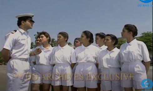 A Scene from 1996 Doordarshan TV Series - Aarohan