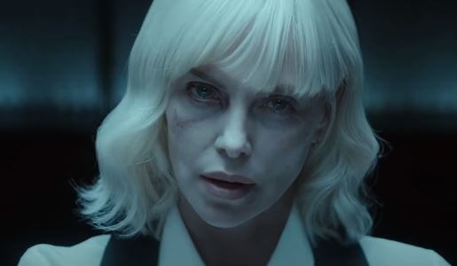 Charlize Theron as Lorraine Broughton, a top-level MI6 field agent in Atomic Blonde