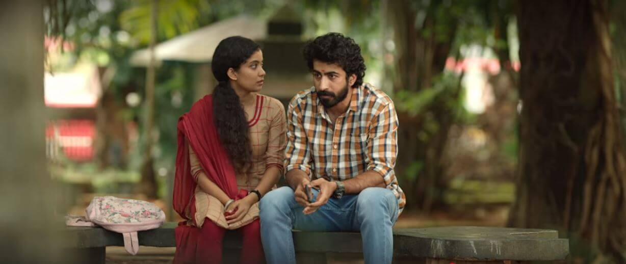 A scene from 2020 Malayalam Movie Kappela
