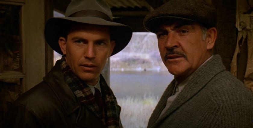 Kevin Costner & Sean Connery in The Untouchables
