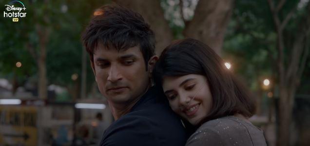 Sushant Singh Rajput & Sanjana Sanghi in Dil Bechara Movie