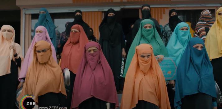 A scene from 2020 Pakistani Web Series Churails