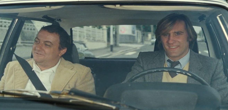 Coluche & Gerard Depardieu in Inspector Blunder 1980 French Movie