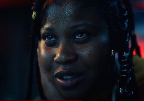 Dominique Fishback is impressive as Robin
