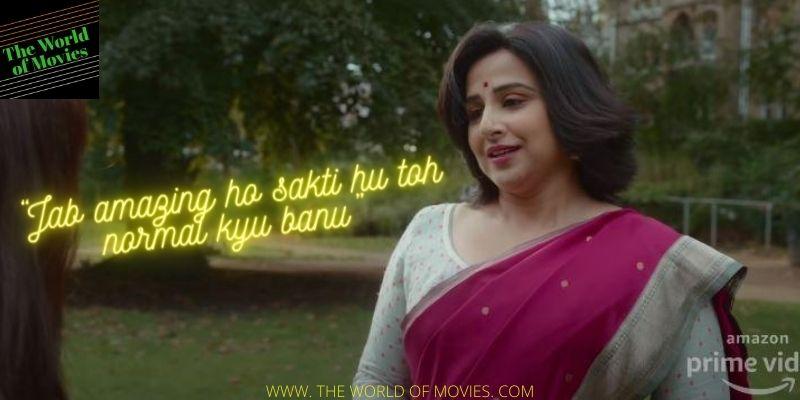 Vidya Balan has done a fabulous job in and as Shakuntala Devi