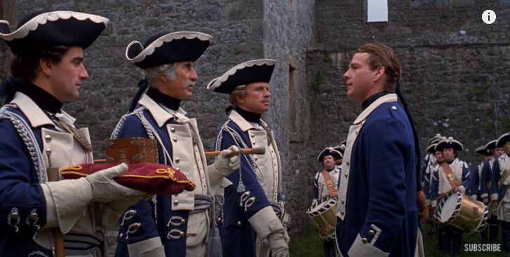 A Scene From The Barry Lyndon 1975 Movie
