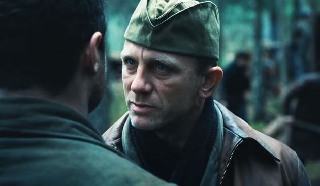 Daniel Craig is the heart and soul of Defiance Movie