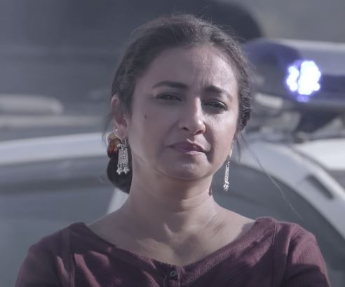 Divya Dutta as Ayesha Khan in Hostages Season - 02