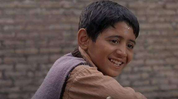 Amir Farrokh Hashemian as Ali in 1997 Iranian Movie Children of Heaven