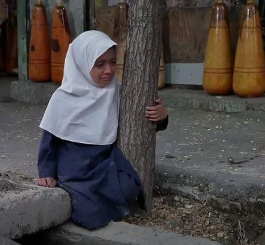 Bahare Seddiqi as Zahra in Children of Heaven