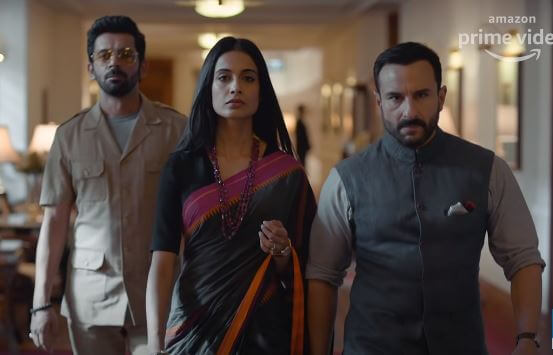 A Scene From Tandav Web Series On Amazon Prime Video