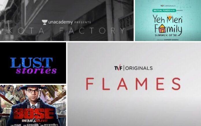 Top 5 Netflix, ALT Balaji, & TVF Play Web Series To Rewatch In 2021