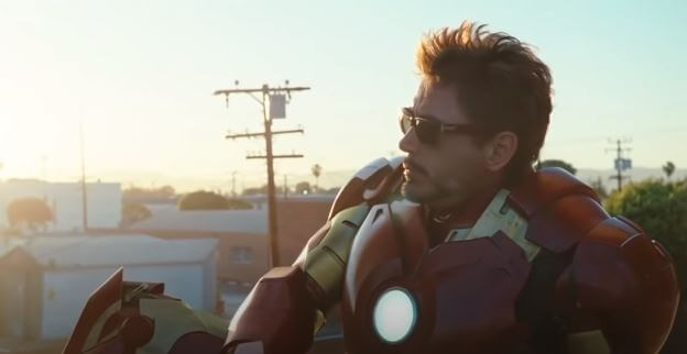 Robert Downey Jr. once again weaves his magic in 2010 Iron Man - 2 movie