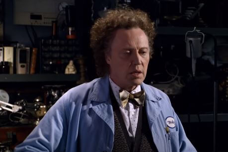 Christopher Walken As The Mystery Guy Morty