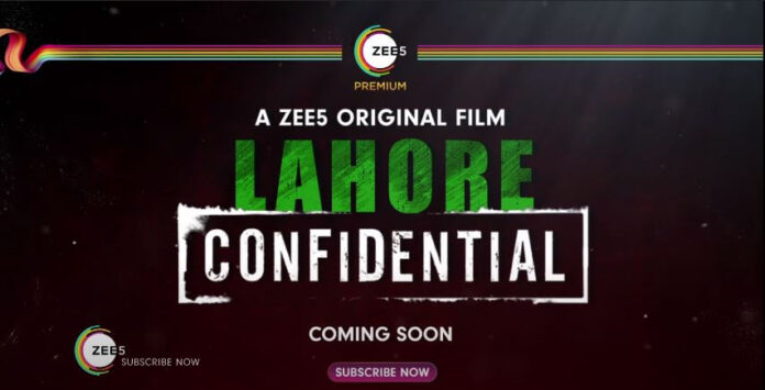 Lahore Confidential - A ZEE5 Original Movie